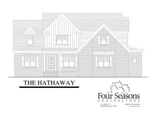 The Hathaway - The Landing at Cooper Fields: Nashville, North Carolina - Four Seasons Contractors