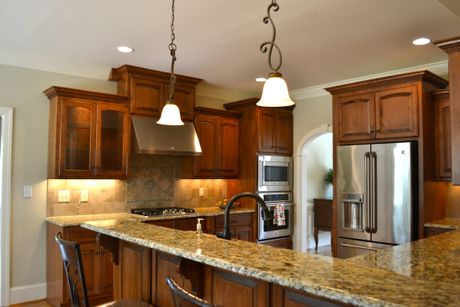 Kitchen-in-The Wimbledon-at-The Landing at Cooper Fields-in-Nashville