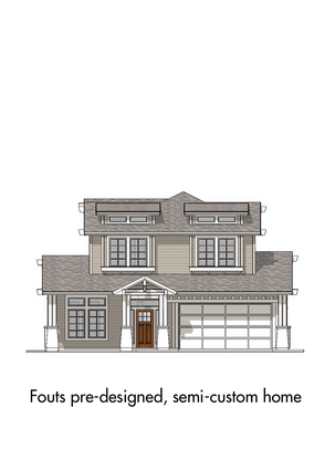Pre-Designed Semi-Custom 5:Elevation