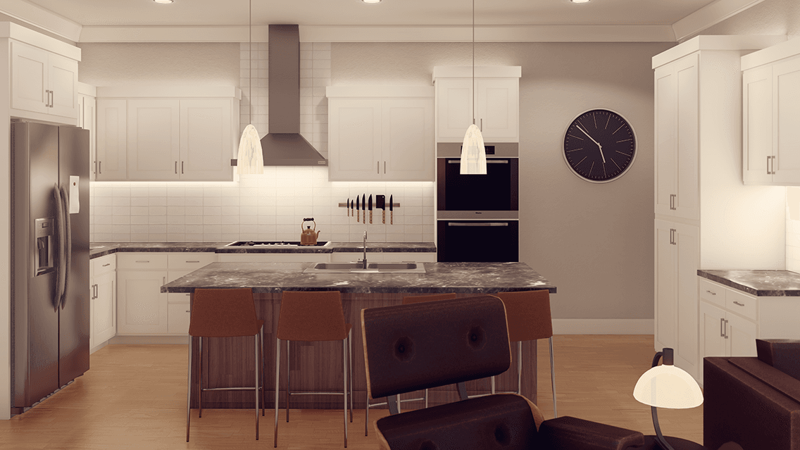 Kitchen featured in the Plan 39 By  Fouts Homes in Sacramento, CA