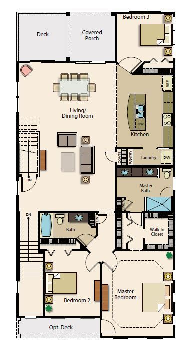 Second Floor w/ deck