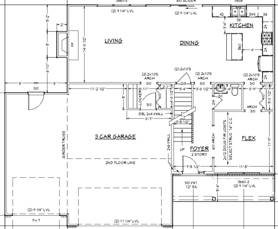 Bedroom featured in the Plan 2179 By Franke Construction in Champaign-Urbana, IL