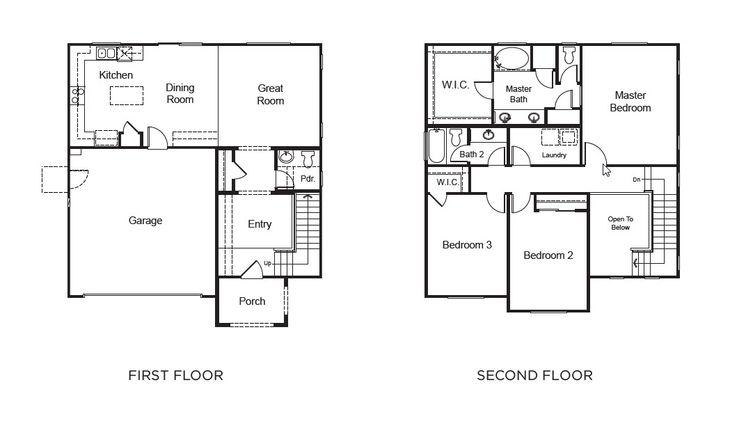 Residence 1 :Floor plan