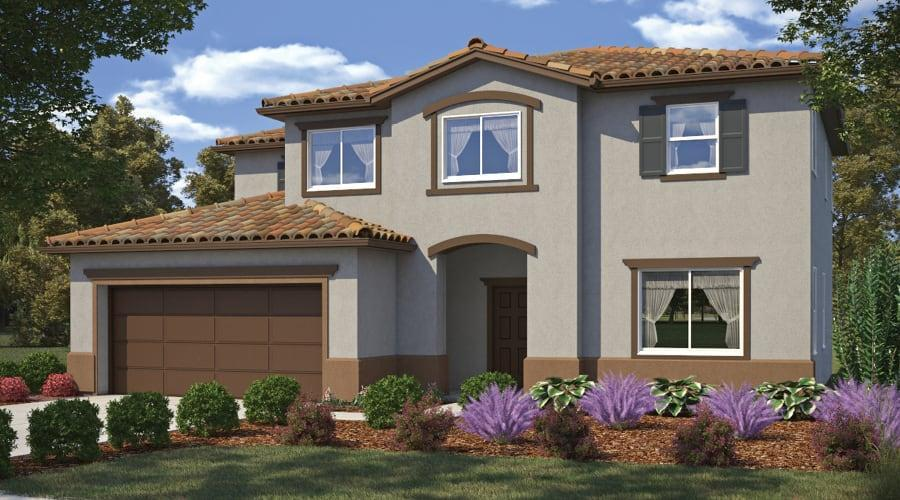 Exterior featured in the Residence 2 By Frontier Communities in Bakersfield, CA