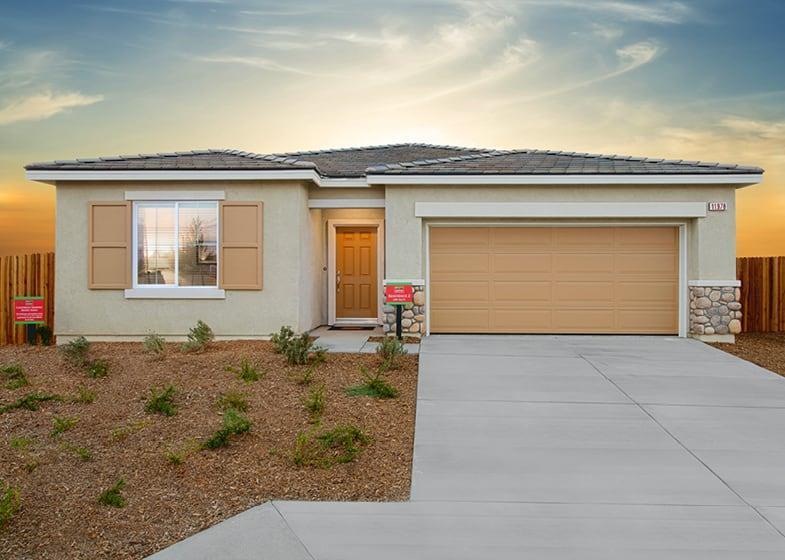 Exterior featured in the Residence 2 By Frontier Communities in Riverside-San Bernardino, CA