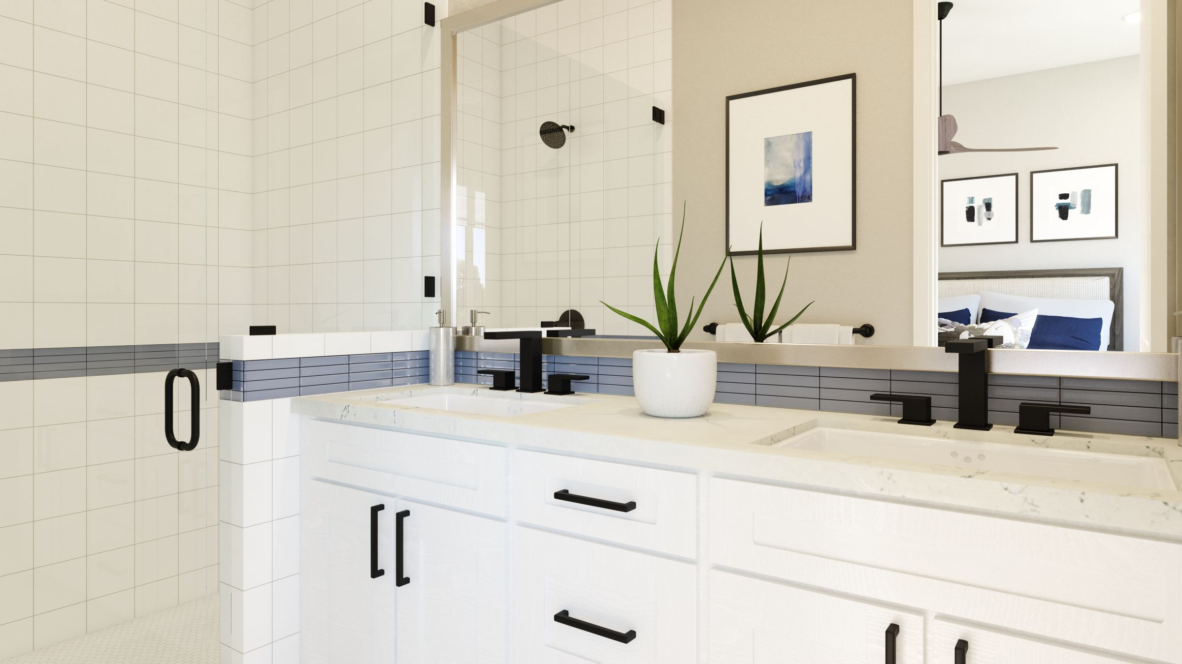 Bathroom featured in the Residence 3 By G3 Urban in Los Angeles, CA