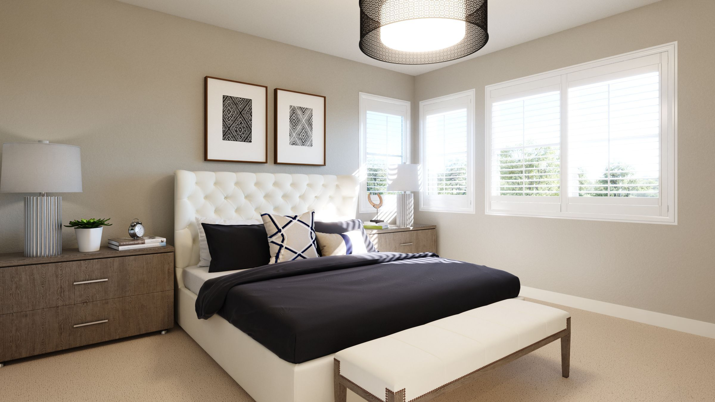 Bedroom featured in the Residence 9 By G3 Urban in Los Angeles, CA