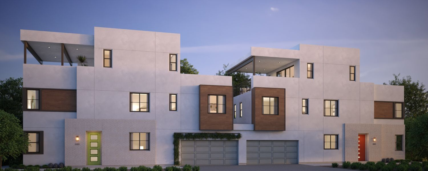 Exterior featured in the Residence 8 By G3 Urban in Los Angeles, CA