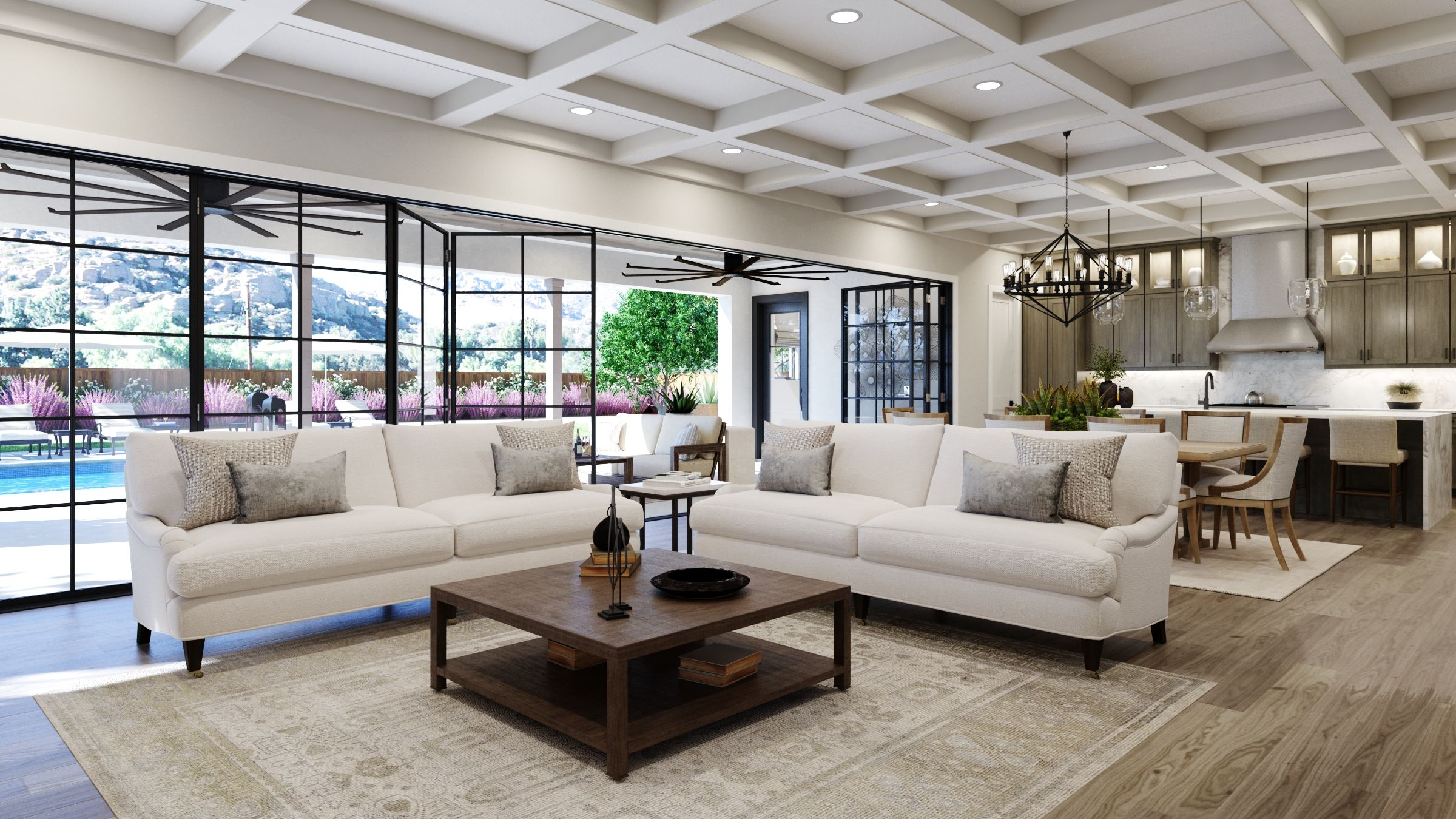 Living Area featured in the Estate One By G3 Urban in Los Angeles, CA