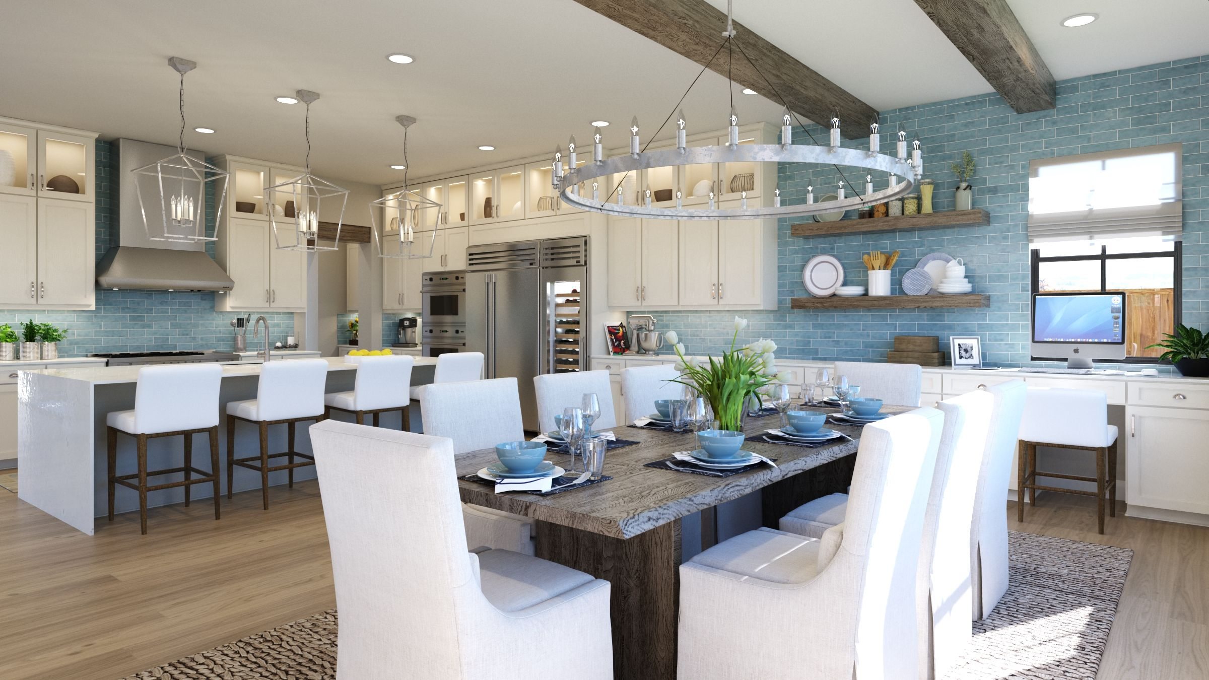 Kitchen featured in the Estate Two By G3 Urban in Los Angeles, CA