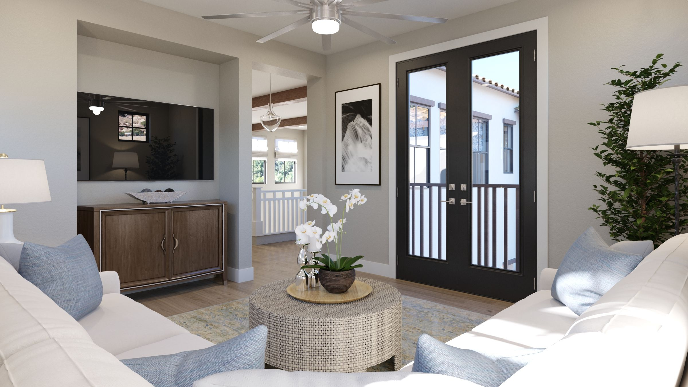 Living Area featured in the Estate Two By G3 Urban in Los Angeles, CA