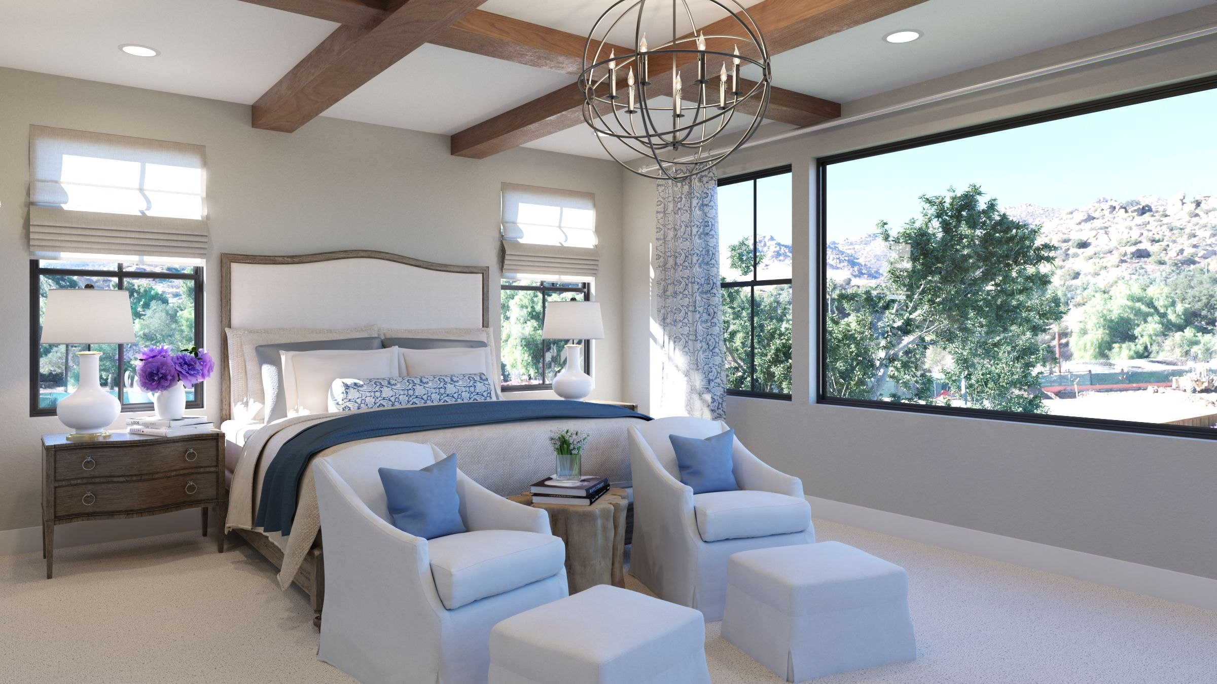Bedroom featured in the Estate Two By G3 Urban in Los Angeles, CA