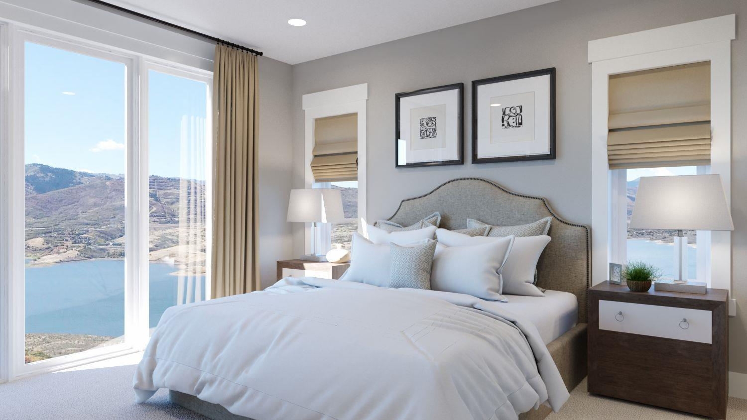 Bedroom featured in the Brighton By GCD in Salt Lake City-Ogden, UT