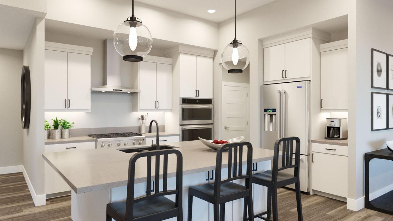 Kitchen featured in the Brighton By GCD in Salt Lake City-Ogden, UT