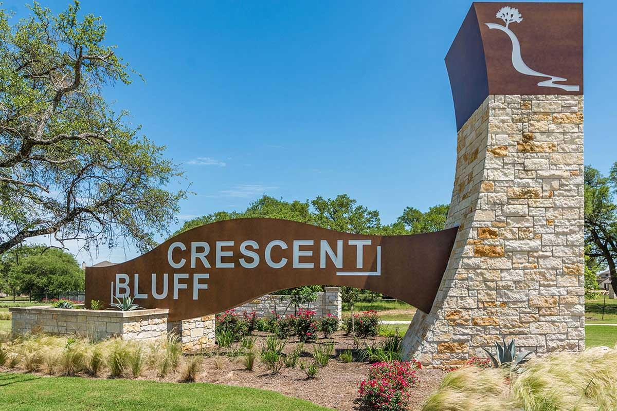 Crescent Bluff In Georgetown Tx New Homes By Gfo Home