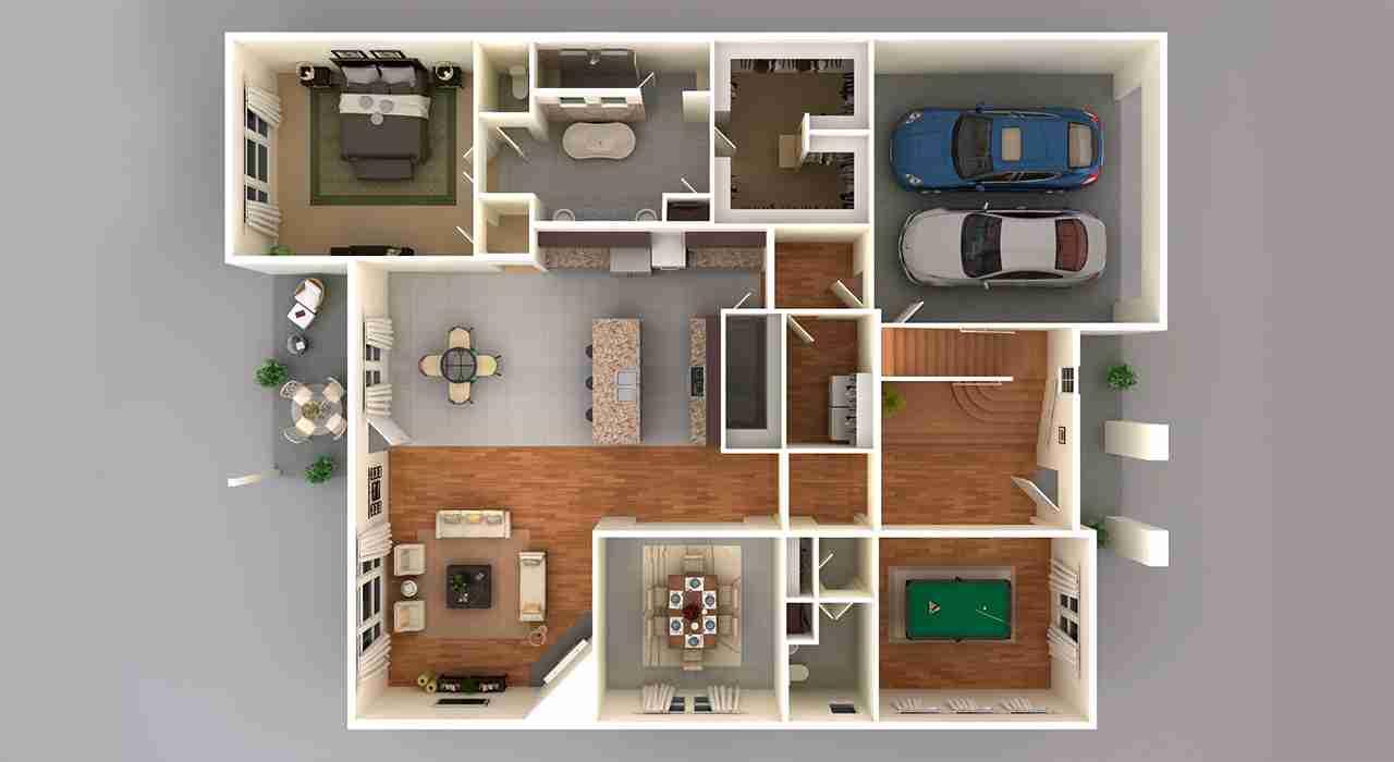 5236 3D Floor Plan