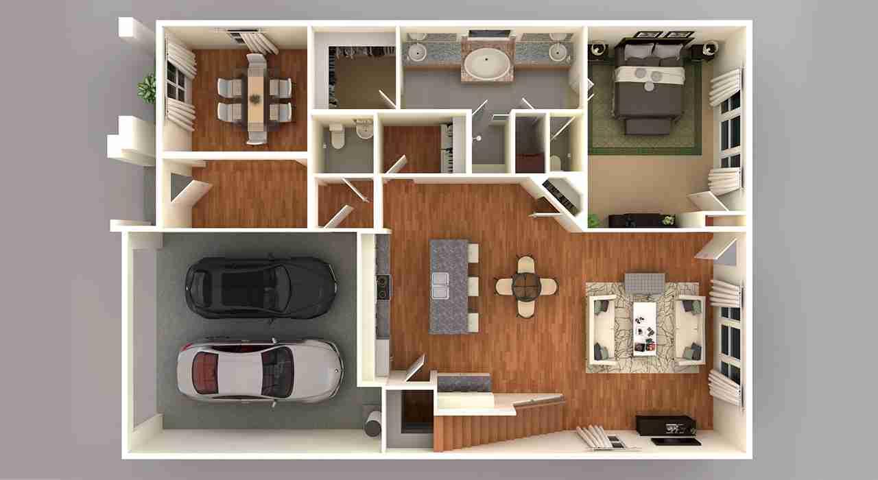 4231 3D Floor Plan