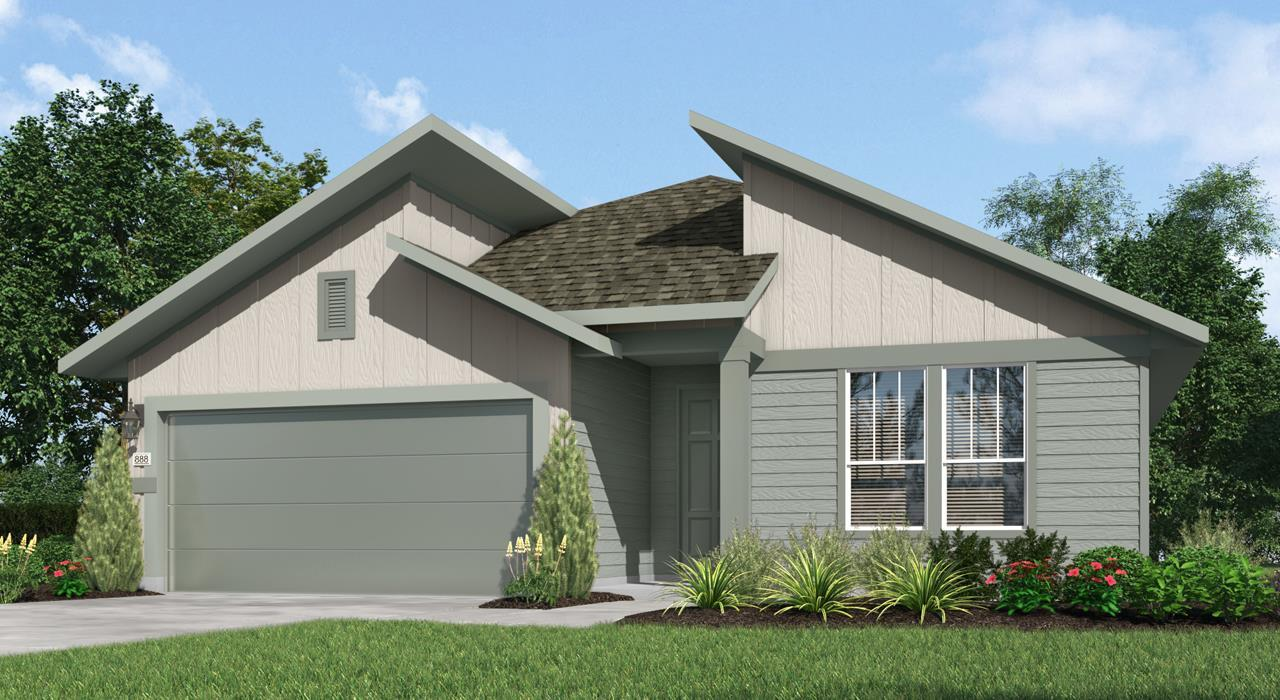 Exterior featured in the Madison 4119 By GFO Home in Austin, TX