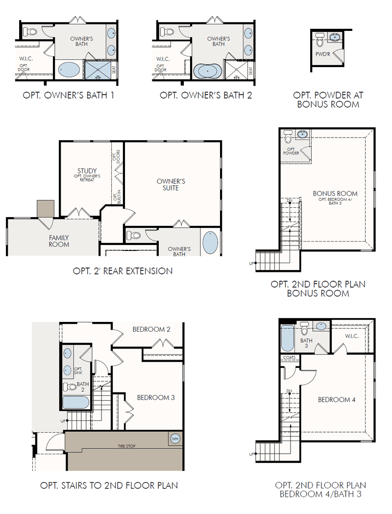 Monroe 4120 Home Plan by GFO Home in Whisper Valley