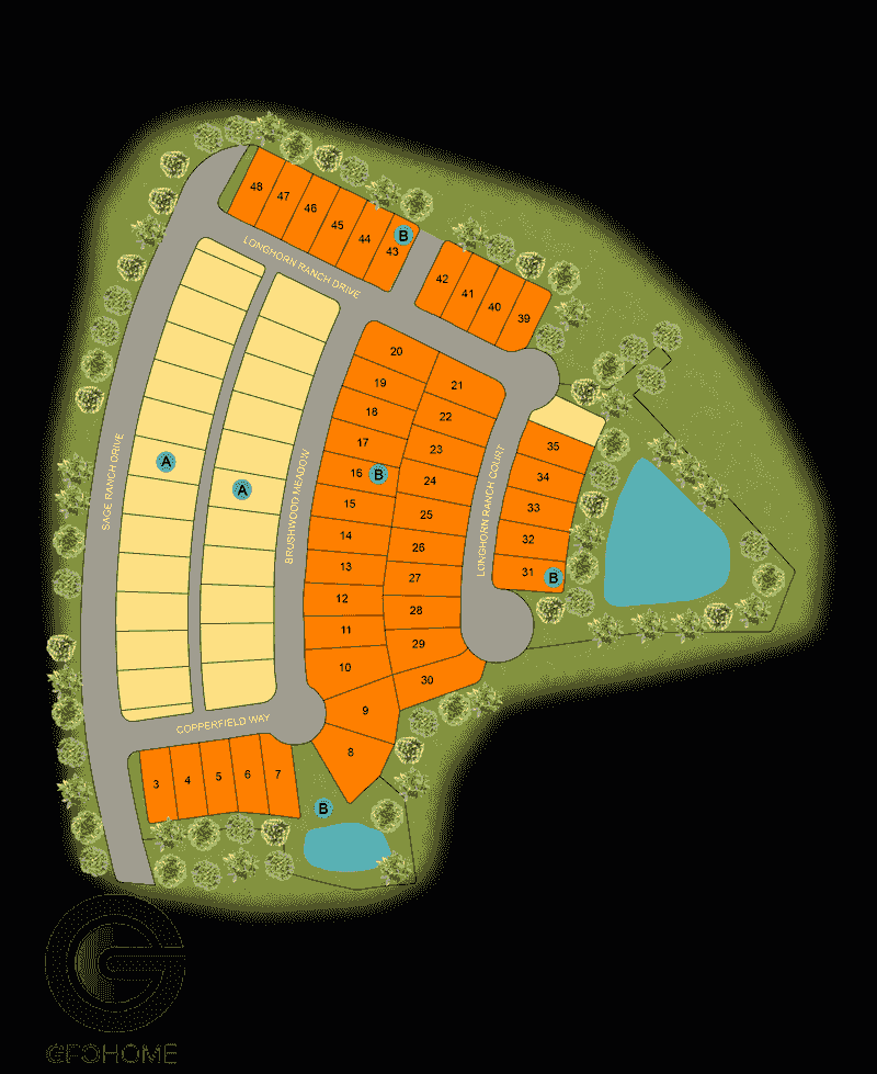 Deerbrooke Site Map