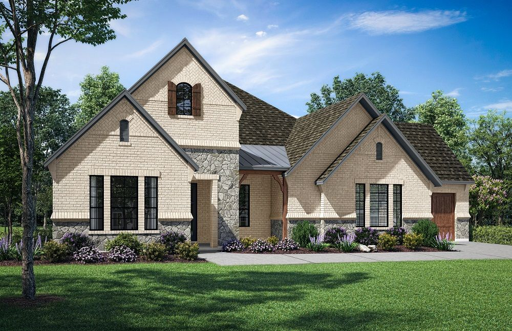 Exterior featured in the Jefferson S 5126 Pinnacle Series By GFO Home in Dallas, TX