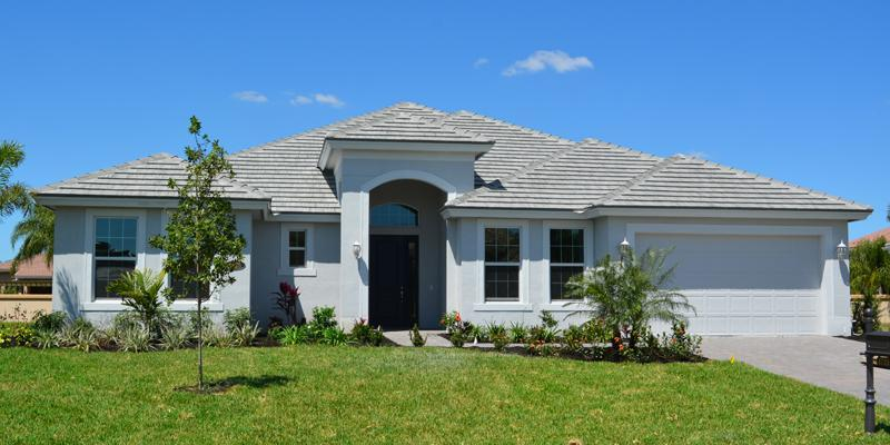 Exterior featured in the Windsong By GHO Homes in Indian River County, FL