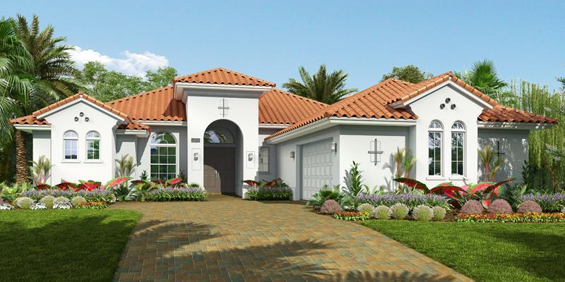 Exterior featured in the Stanton By GHO Homes in Indian River County, FL