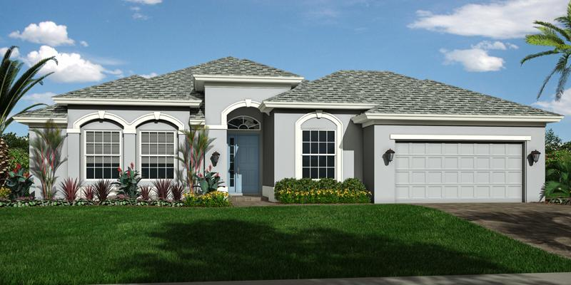 Exterior featured in the Marlin 5 By GHO Homes in Martin-St. Lucie-Okeechobee Counties, FL