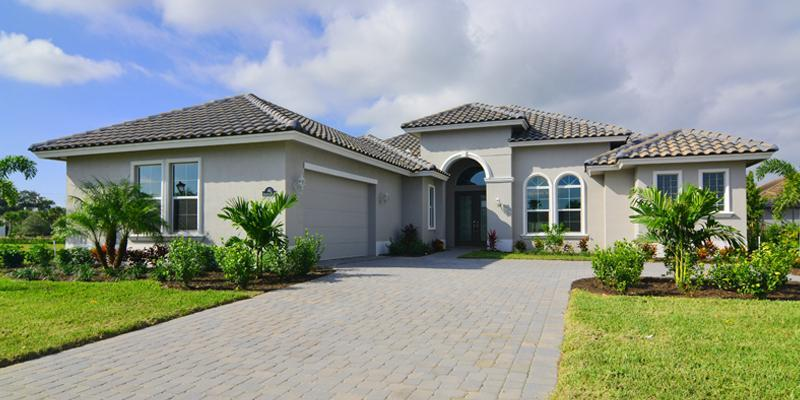 Exterior featured in the Tradewinds By GHO Homes in Indian River County, FL