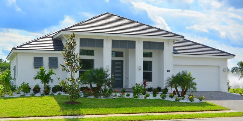 Exterior featured in the Vanda By GHO Homes in Indian River County, FL