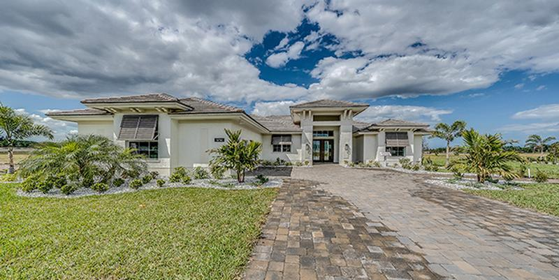 Exterior featured in the Redmond LR By GHO Homes in Indian River County, FL