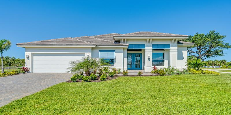Exterior featured in the Isabella By GHO Homes in Indian River County, FL