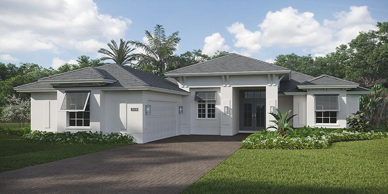 Exterior featured in the Redmond By GHO Homes in Indian River County, FL
