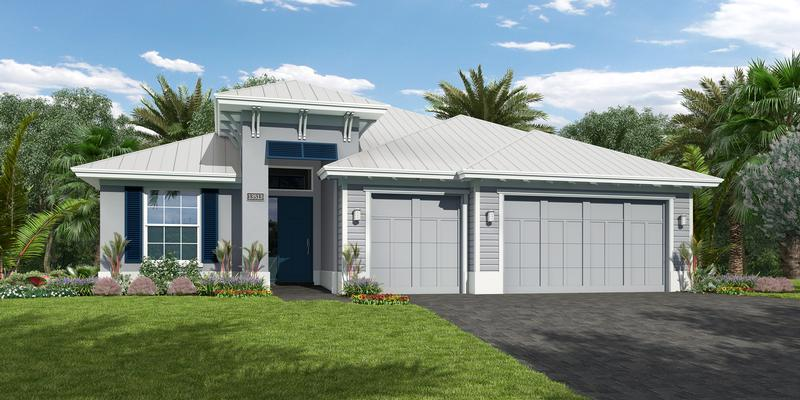 Exterior featured in the Cordella By GHO Homes in Indian River County, FL