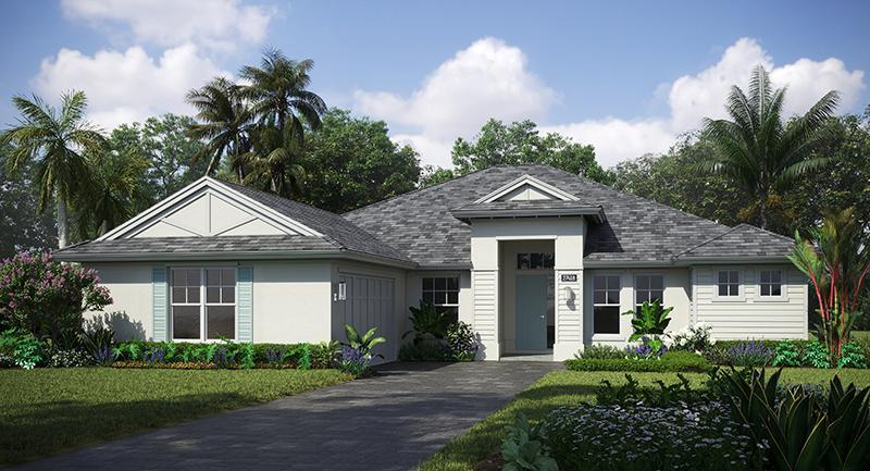 Exterior featured in the Tavvo Signature By GHO Homes in Indian River County, FL