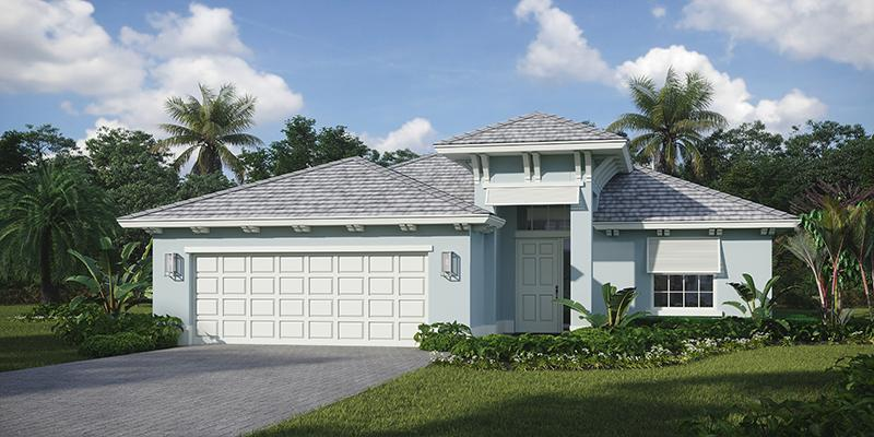 Exterior featured in the Lucida Jem By GHO Homes in Martin-St. Lucie-Okeechobee Counties, FL