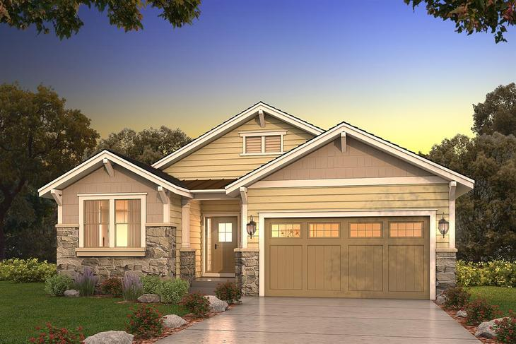 Exterior:Craftsman Elevation