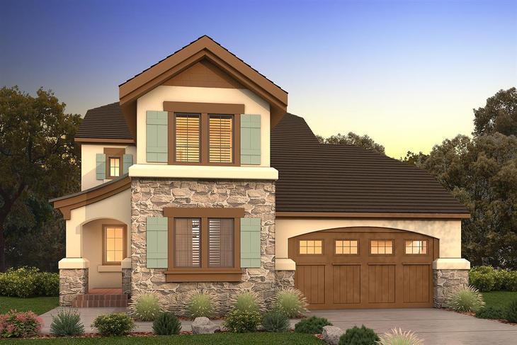 Exterior:Craftsman Elevation