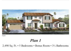 Plan 1 - Hamilton Court Murrieta: Murrieta, California - GJH Development