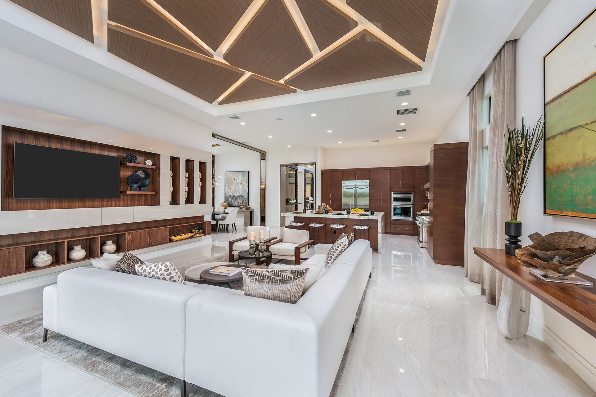 Living Area featured in the Sevilla By GL Homes in Palm Beach County, FL