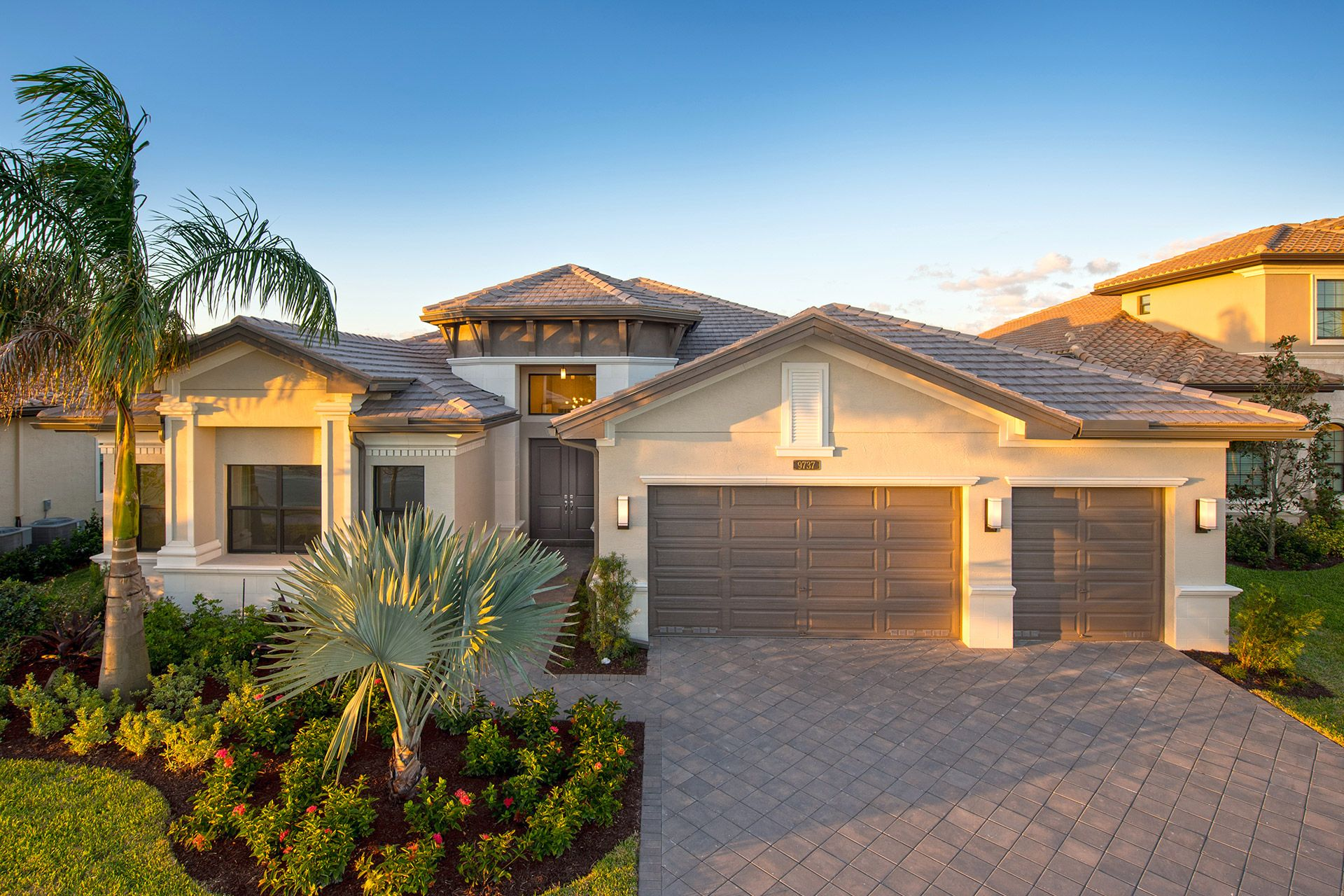 Exterior featured in the Charleston Grande By GL Homes in Palm Beach County, FL