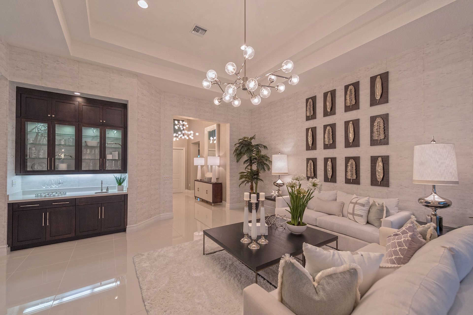 Living Area featured in the Charleston Grande By GL Homes in Palm Beach County, FL