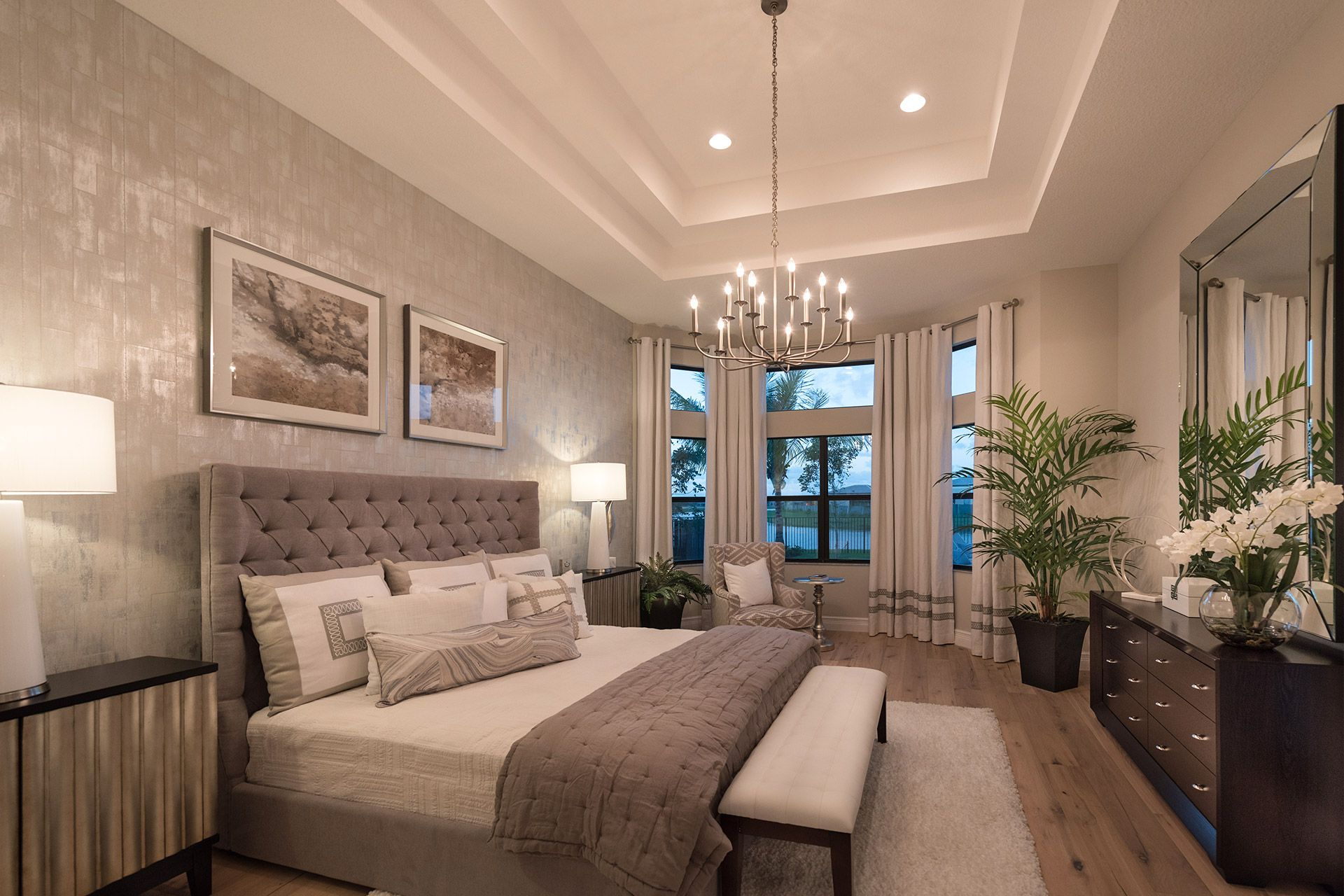 Bedroom featured in the Charleston Grande By GL Homes in Palm Beach County, FL