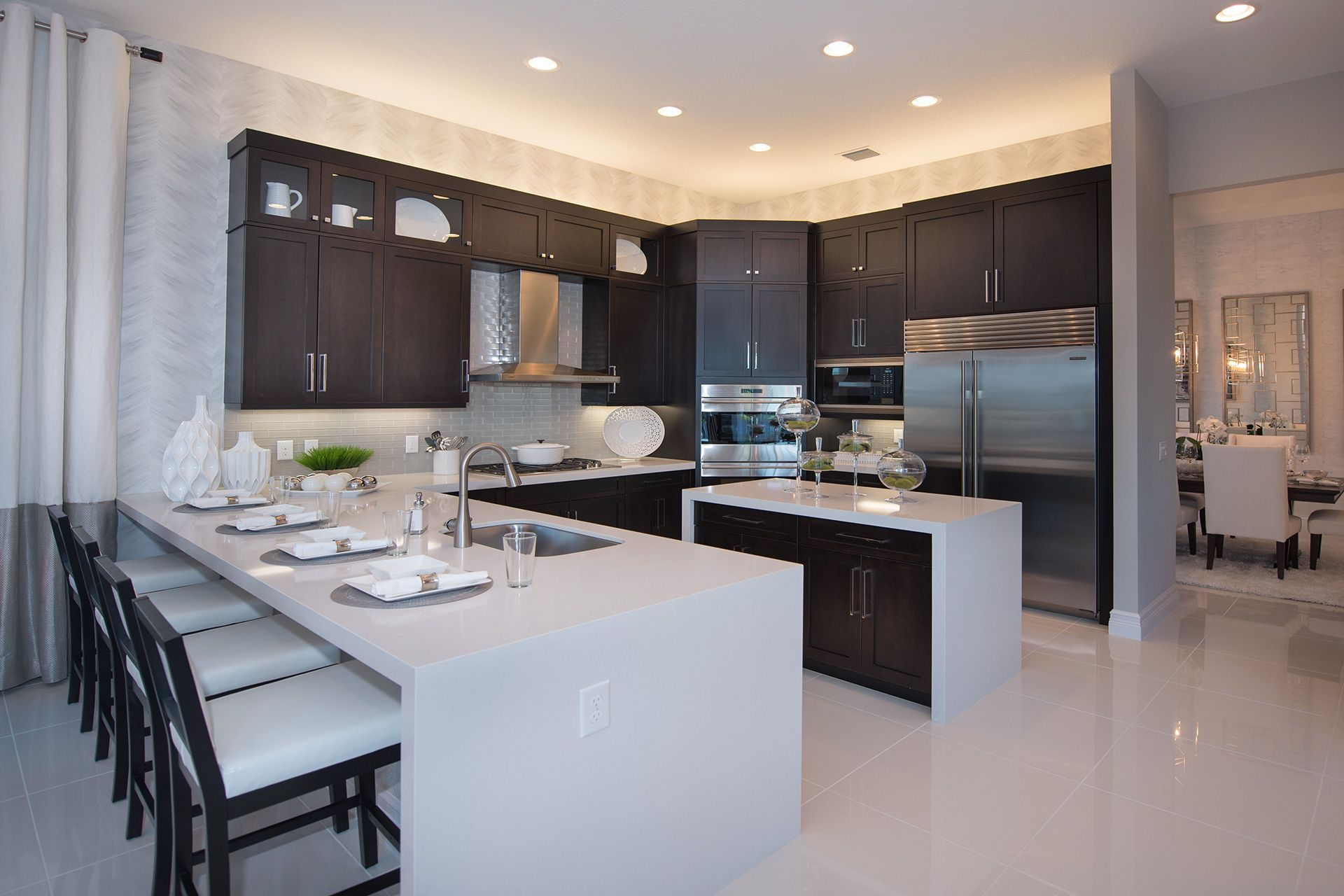 Kitchen featured in the Charleston Grande Contemporary By GL Homes in Palm Beach County, FL
