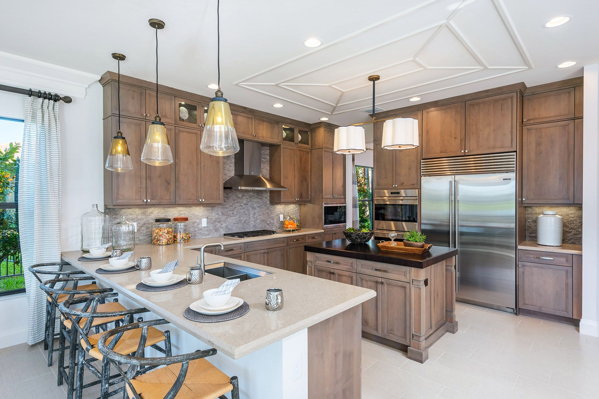Kitchen featured in the Bassano Grande Contemporary By GL Homes in Palm Beach County, FL