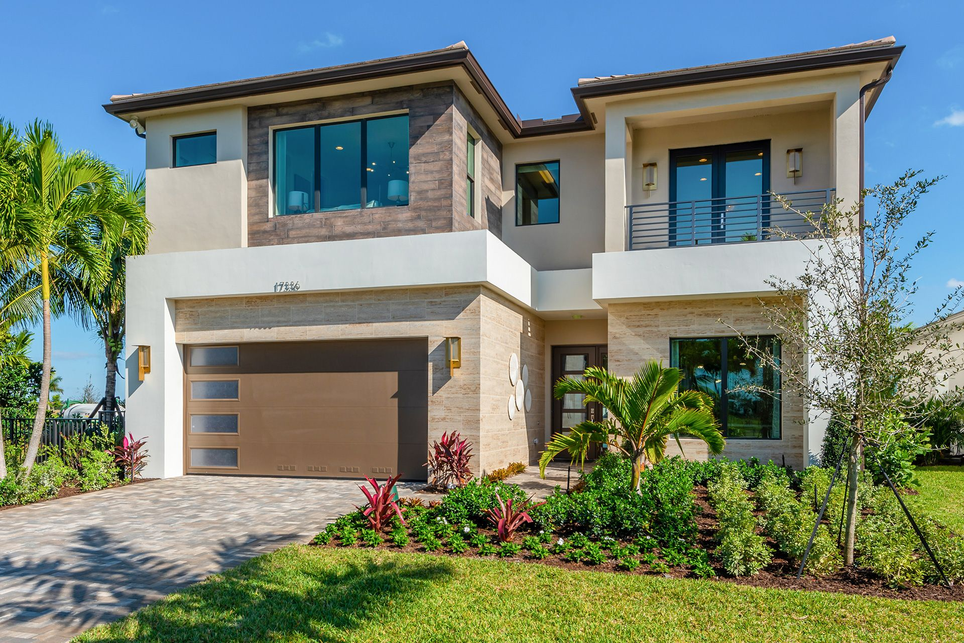Exterior featured in the Mariana By GL Homes in Palm Beach County, FL