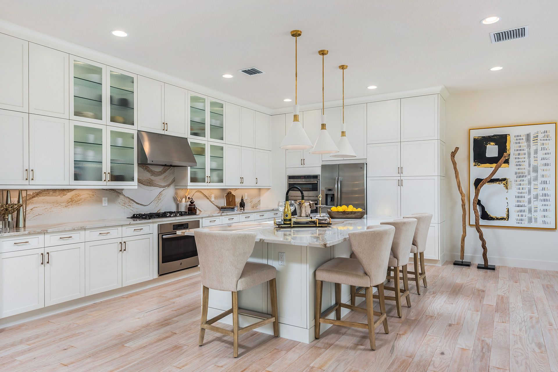 Kitchen featured in the Mariana By GL Homes in Palm Beach County, FL