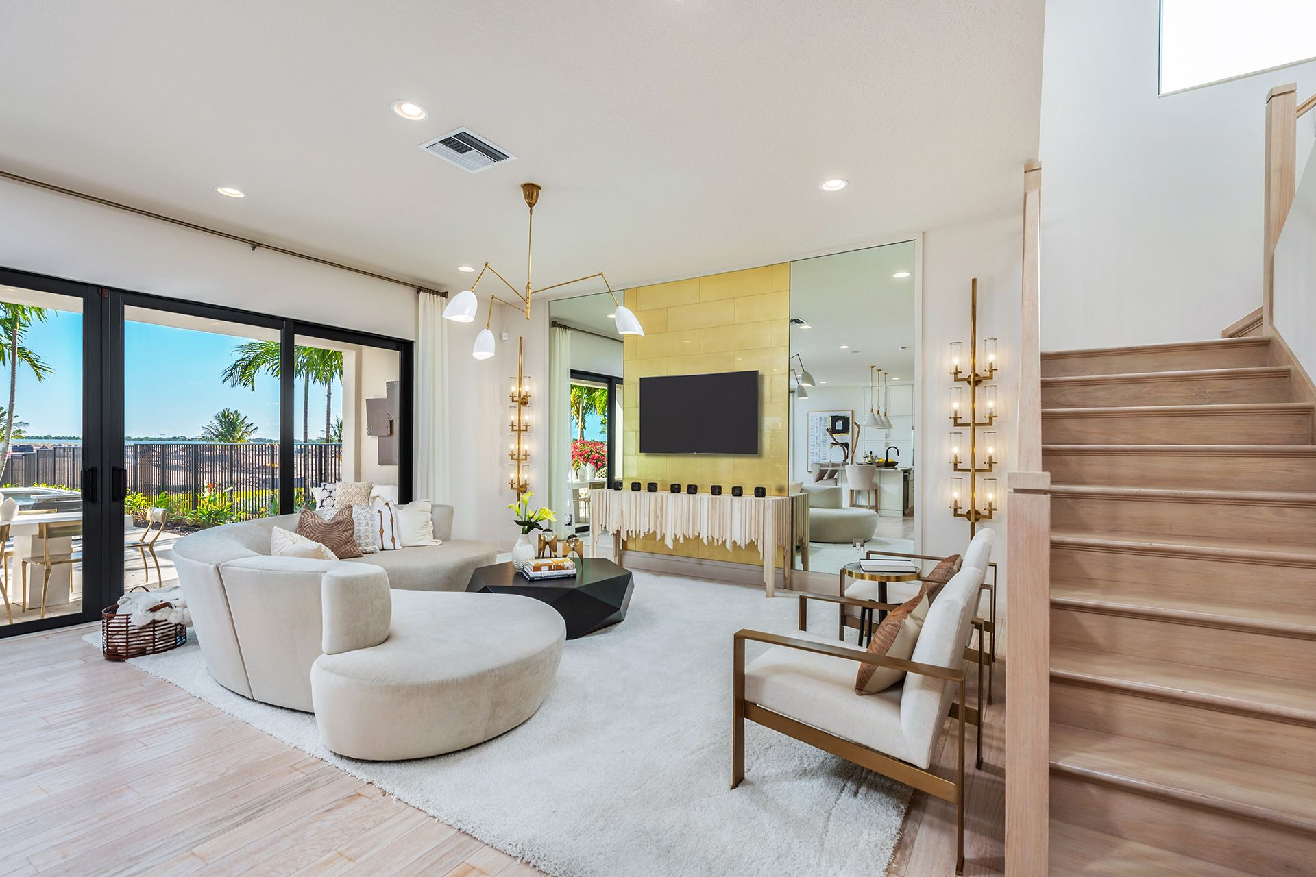 Living Area featured in the Mariana By GL Homes in Palm Beach County, FL