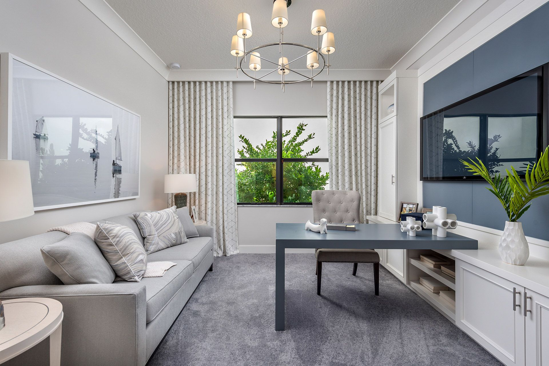 Living Area featured in the Maui By GL Homes in Palm Beach County, FL