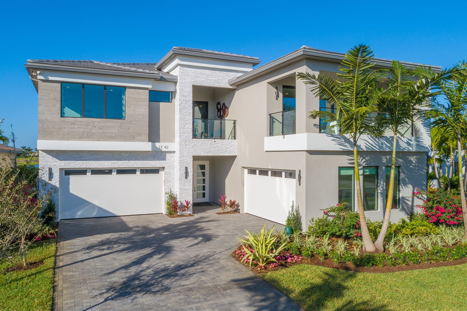 Exterior featured in the Maldives By GL Homes in Palm Beach County, FL